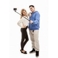 Selfie stick PRO 112 cm black