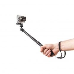 Selfie tyč PRO 52 cm černá (monopod)