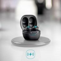 LAMAX Dots2 wireless charging + Bezdrátová nabíječka maXlife MXWC-01