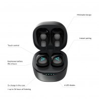 LAMAX Dots2 Touch Black wireless charging