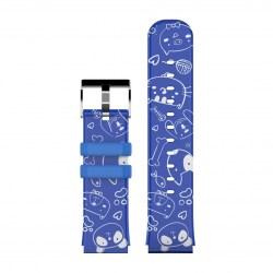 LAMAX BCool strap blue animals